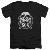 Sons Of Anarchy - SOA Club V-Neck T-Shirt