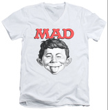 Mad Magazine - U Mad V-Neck T-Shirt