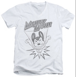 Mighty Mouse - Bursting Out V-Neck Shirts