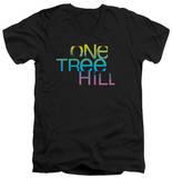 One Tree Hill - Color Blend Logo V-Neck T-Shirt