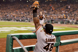 Wild Card Game - San Francisco Giants v Pittsburgh Pirates Photographic Print by Jason Miller