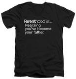 Parenthood - Becoming Your Father V-Neck T-Shirt