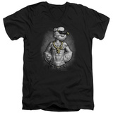 Popeye - Hardcore V-Neck T-shirts