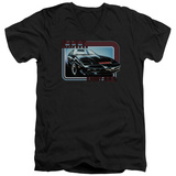 Knight Rider - Kitt V-Neck T-shirts