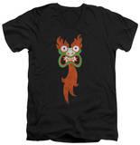 Samurai Jack - Aku Face V-Neck Shirt