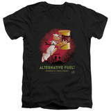 Popeye - Alternative Fuel V-Neck T-shirts
