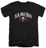 Sons Of Anarchy - Samcro Forever V-Neck T-shirts