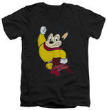 Mighty Mouse - Classic Hero V-Neck T-shirts