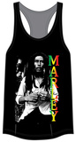 Juniors Tank Top: Bob Marley - Marley Rasta Shirt