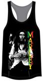 Juniors Tank Top: Bob Marley - Marley Rasta T-shirts
