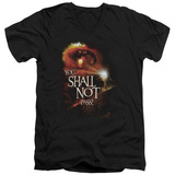 Lord Of The Rings - You Shall Not Pass V-Neck T-Shirt