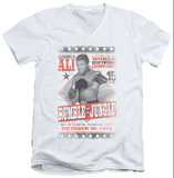 Muhammad Ali - Rumble Poster V-Neck Shirt