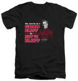NCIS - No Bluffing V-Neck T-shirts