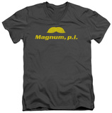 Magnum P.I. - The Stache V-Neck T-Shirt
