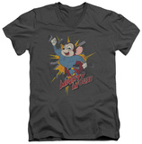 Mighty Mouse - Break Through V-Neck T-shirts