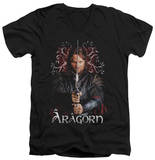 Lord Of The Rings - Aragorn V-Neck T-Shirt