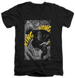 King Kong - Crushing Poster V-Neck V-Necks