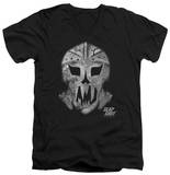 Slap Shot - Goalie Mask V-Neck T-shirts