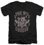 Mighty Mouse - The Big Cheese V-Neck T-shirts