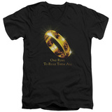 Lord Of The Rings - One Ring V-Neck Shirts