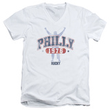 Rocky - Philly 1976 V-Neck T-shirts