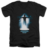 Quantum Leap - First Jump V-Neck T-shirts