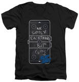Slap Shot - Chalkboard V-Neck Shirts