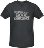 Invasion of the Body Snatchers - Distressed Logo V-Neck T-shirts