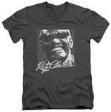 Ray Charles - Signature Glasses V-Neck Shirts