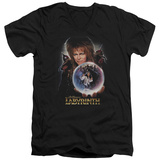 Labyrinth - I Have A Gift V-Neck T-shirts