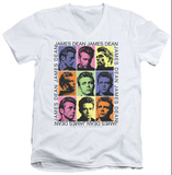 James Dean - James Color Block V-Neck T-shirts