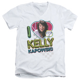 Saved By The Bell - I Love Kelly V-Neck Shirts