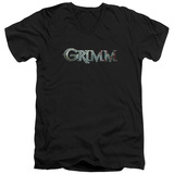 Grimm - Bloody Logo V-Neck Shirt