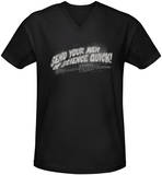 Invasion of the Body Snatchers - Men Of Science V-Neck T-Shirt