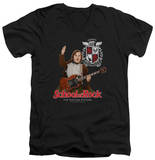 School Of Rock - The Teacher Is In V-Neck T-shirts