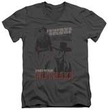 Gunsmoke - US Marshall Matt Dillon V-Neck T-shirts