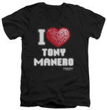 Saturday Night Fever - I Heart Tony V-Neck T-Shirt