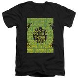 Green Lantern - Green Lantern Oath V-Neck T-Shirt