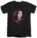 Rizzoli & Isles - Maura Isles V-Neck T-shirts