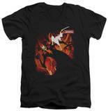 Samurai Jack - Jack Vs Aku V-Neck Shirts