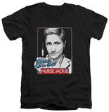 Nurse Jackie - Nurses Call The Shots V-Neck T-shirts