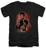 Muhammad Ali - Painted V-Neck Shirts