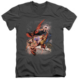 Justice League - Teen Titans No.1 V-Neck T-Shirt