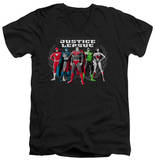 Justice League - The Big Five V-Neck V-Necks