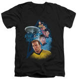 Star Trek - Among The Stars V-Neck T-Shirt
