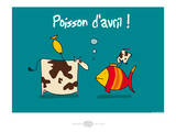 Heula. Poisson d'avril Posters by Sylvain Bichicchi