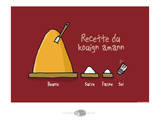Oc'h oc'h. - Recette du Kouign amann Art by Sylvain Bichicchi