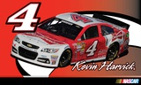 Kevin Harvick Deluxe 3' X 5' Flag Flag