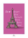 Coq-Ô-Rico - Eiffel Posters por Sylvain Bichicchi