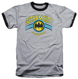 Batman - Gotham City Basketball Ringer T-shirts